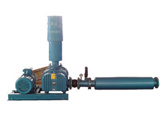 Cast Iron Tri-Lobe Roots Blower  , Heavy Duty Construction High Pressure Roots Blower DN350 3900 m3/Hr