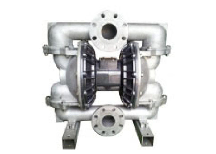 Stainless steel pneumatic diaphragm pump for chemical injection process 265gpm suction height 5m