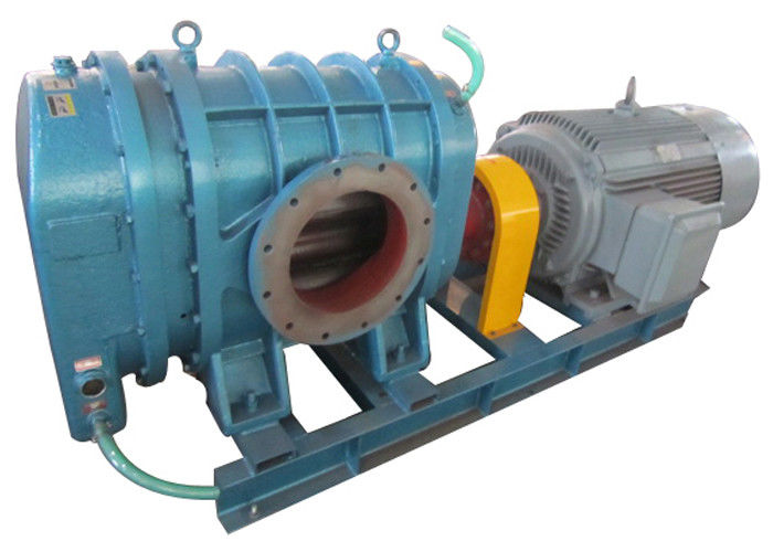 12956 m3/h particles transport Tri-lobe Roots Blower for wheat grain or granular Port size 400m